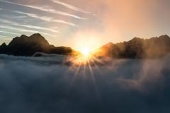 Gesäuse Sonnenaufgang
